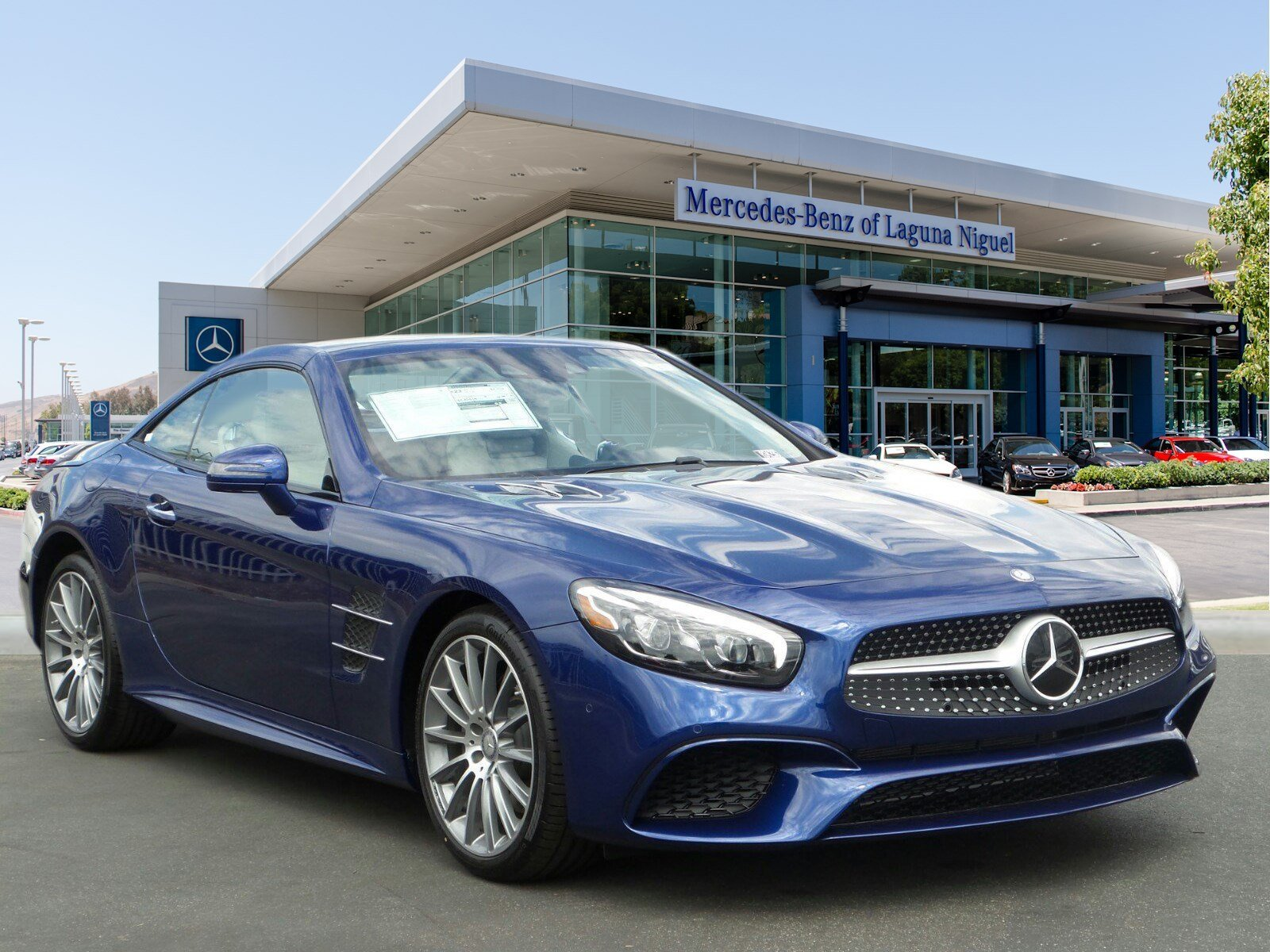 New 2017 mercedes benz sl sl450 roadster in laguna niguel for 2017 mercedes benz winter event