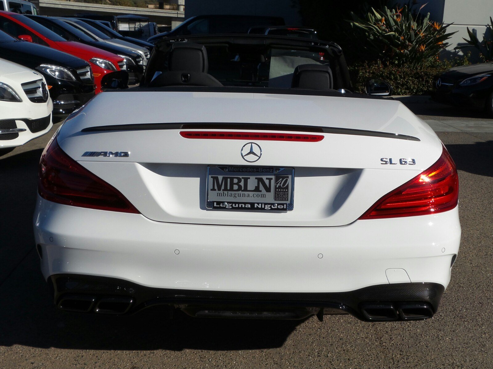 New 2017 mercedes benz sl amg sl63 roadster in laguna for 2017 mercedes benz winter event