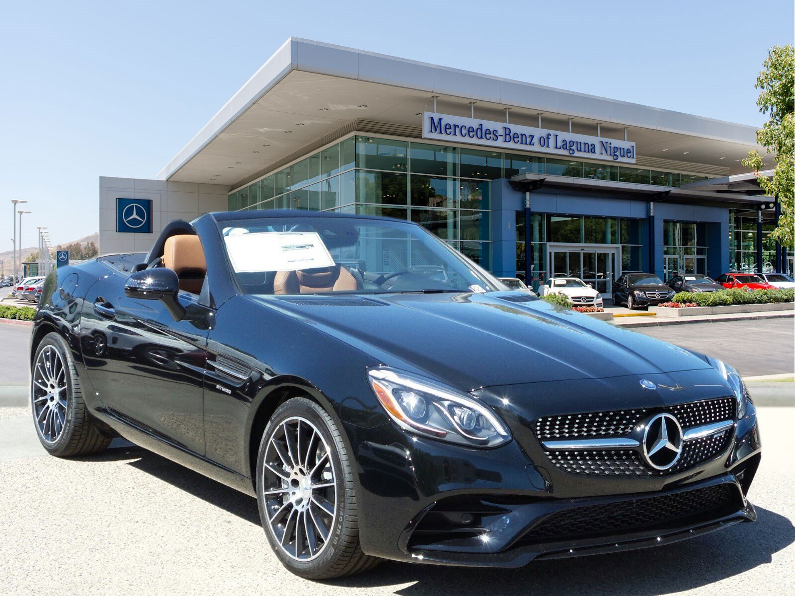 New 2017 mercedes benz slc amg slc43 roadster in laguna for 2017 mercedes benz winter event