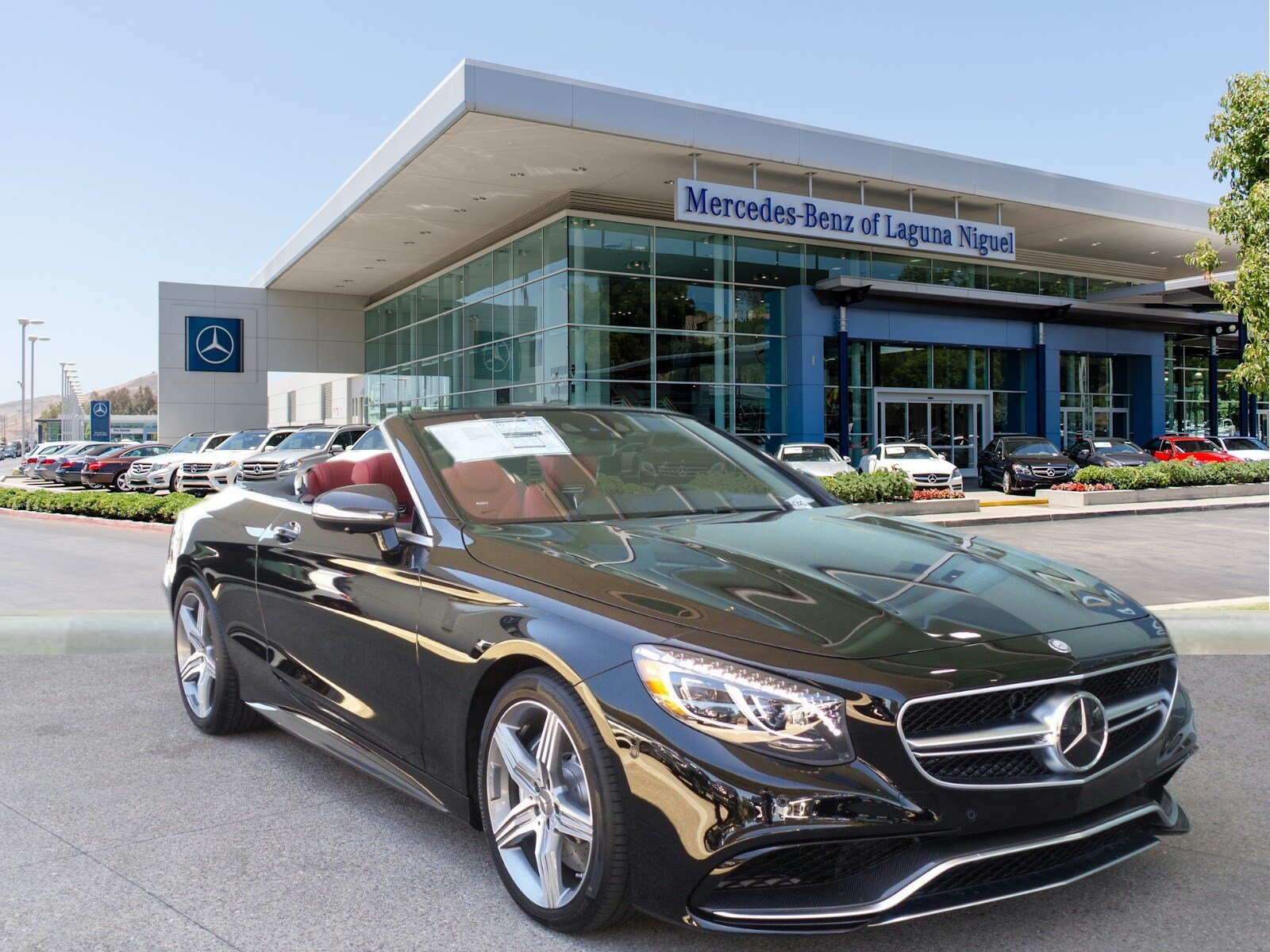 New 2017 mercedes benz s class amg s63 cabriolet in for Mercedes benz laguna niguel ca