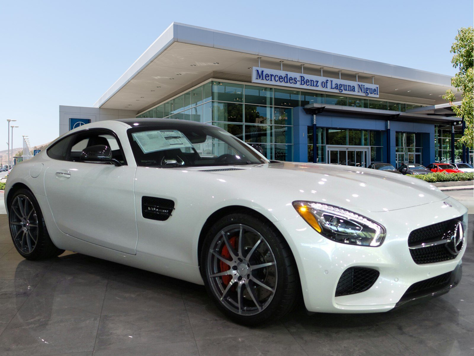 New 2017 mercedes benz amg gt amg gt s coupe in laguna for 2017 mercedes benz amg gt msrp